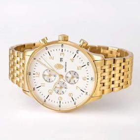 413b0cf0a9f Relógio Constantim Slim Gold - Relógios no Mercado Livre Brasil