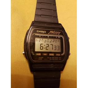 5158a6478ade Reloj De Pulsera Vintage Casio M-10 Melody