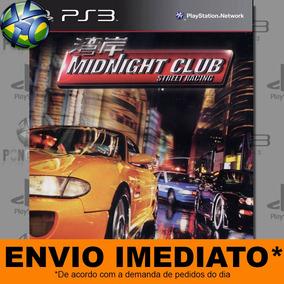 Jogo Midnight Club Street Racing Ps3 - Pronta Entrega Psn