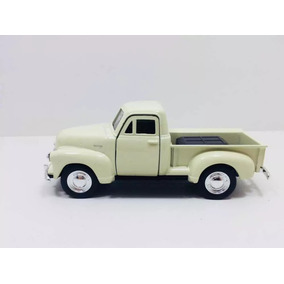 Pickup Welly 1953 Chevrolet Coleçao Creme