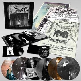 Mayhem Cursed In Eternity Picture Lp Box Set