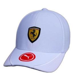 Bone Ferrari Vermelho - Bonés para Masculino Branco no Mercado Livre ... e8b4f6bcc98