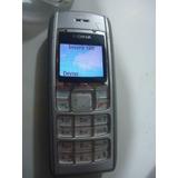Celular Nokia 1600 Tim Funcionado Sem Carregador N0416