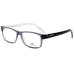 c3d166f82cfcf Armação De Óculos Lacoste L2707 035 53 - Cinza Transparente
