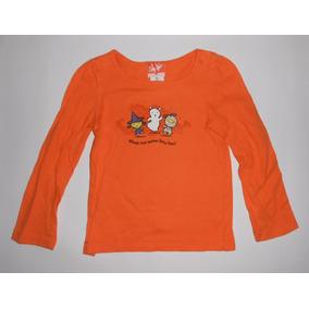 Halloween Playera Naranja Niños Disfrazados Bailando 3 Años