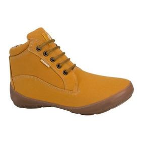 Bota Heavy Urban Shoes 3121 Color Mostaza Dama
