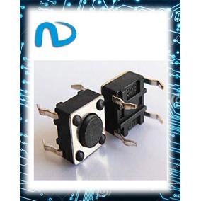Push Button 6x6x4,3 Mm Ideal Para Protoboard (20 Pcs)