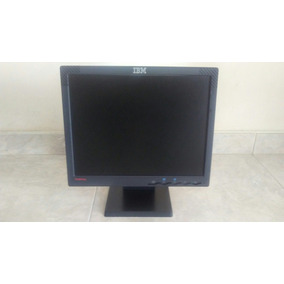 Monitor Ibm Lcd Color 14 En Excelentes Condiciones