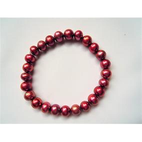 Pulsera Perla Cultivada Cobrizo 18cm 409 -70 % Descuento