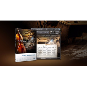 Action Strings Kontakt - Violinos E Cellos Ultra Expressivos