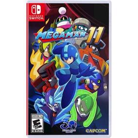 Mega Man 11 Switch Midia Fisica Lacrado