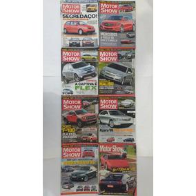 8 Revistas Motor Show Automóveis Carros Veículo Frete Gratis