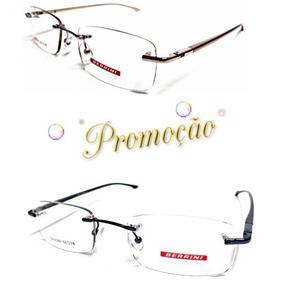 5ed4f33261155 Armacao Oculo Lente Flutuante - Óculos no Mercado Livre Brasil