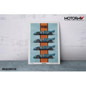 Live Fast Stage 1 - 1970 Porsche 917k - Racing Print