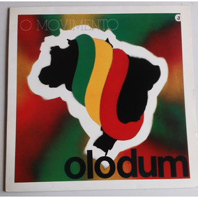 Lp Olodum O Movimento 1993 C/encarte Requebra
