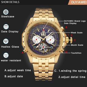 Reloj Ouyawei Skeleton Automático