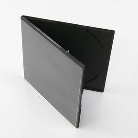 Caja Cd / Dvd / Estuche Plástico Cubierta Transparente