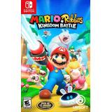 Mario + Rabbids Kingdom Battle. Físico. Nuevo. Sellado.