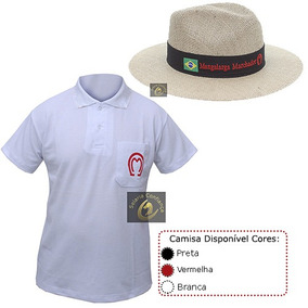 Camisa Polo Mangalarga + Chapéu Mangalarga - Envio Imediato! 2bcb082ac91