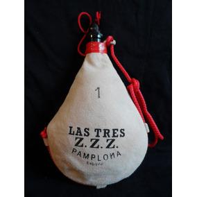 Bota Para Vino Las Zzz De Pamplona Nueva Original Española abd8de0da31b2