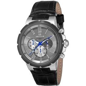 c015e124792 Pulseira Do Relogio Seculus 17093gpsgsc3 - Relógios no Mercado Livre ...