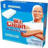Mr. Clean Magic Eraser Esponja Quitamanchas 2 Almohadillas