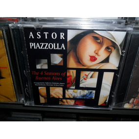 Cd Astor Piazzolla The 4 Seasons Of Buenos Aires