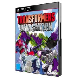 Transformers Devastation Ps3 Mídia Física Lacrado Original