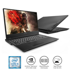 Notebook Gamer Lenovo Legion Y530 I5-8300h 8b 1tb Gtx 1050