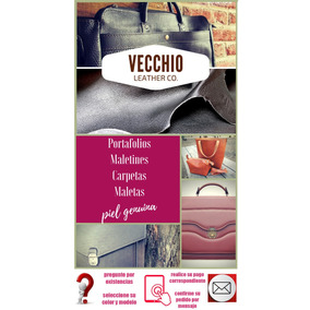Maletines Portafolios Para Damade Piel Guesa Ejecutivo L-066