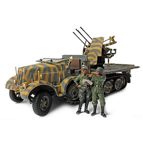Miniatura German Sd. Kfz. 7/1 Mit 2 Cm Flakvierling 38 Force