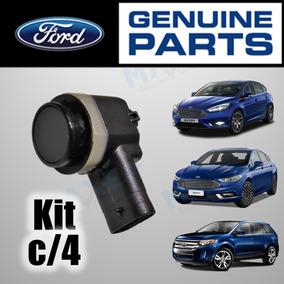 4 Un. Sensor Estacionamento Ford Edge Fusion Focus 2013/2020