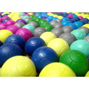 100 Pelotas Para Futbolito Con Diseño De Balón De Colores 7ca8488f92b2d