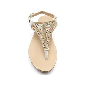 Sandalias Dama Huarache Calzado Zapato Casual Chancla Ca1760