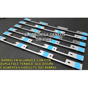 Kit 6 Barra De Led Tv Toshiba 40l2400/3944 Aluminio Nova