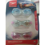 Googles Speedo3 Pack Adulto