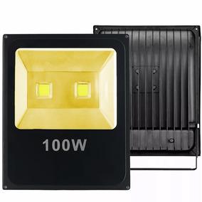 Kit 15x Refletor Led 100w Holofote Branco Quente Bivolt Ip66