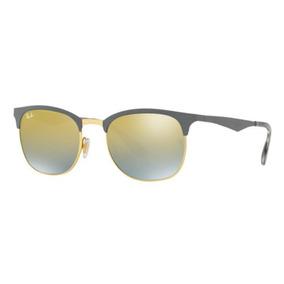 a0a9c29c3d1a4 Oculos Sol Ray Ban Rb3538 9007a7 53mm Cinza Dourada Espelhad