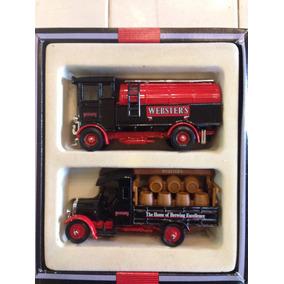 Conjunto Miniatura Caminhão Corgi - Cerveja Webster 1/50