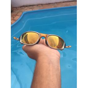 Doublex 24k Lente Gold Oakley Juliet Oculos Sol - Óculos De Sol no ... 3a61779bab