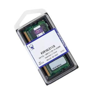 Kit 2 Memoria De 8gb Kingston Ddr3l 1600mhz Dell,mac,notebok