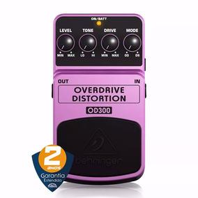 Pedal Guitarra Overdrive Distortion Od300 Behringer