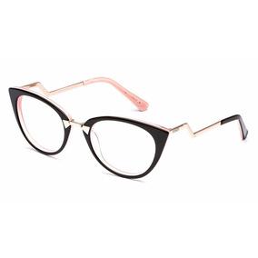 bf0c730469bc5 Armação Óculos Acetato Transparente Fendi - Óculos Rosa no Mercado ...