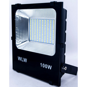 Refletor Holofote Led 100w Smd Branco Frio Bivolt 200leds