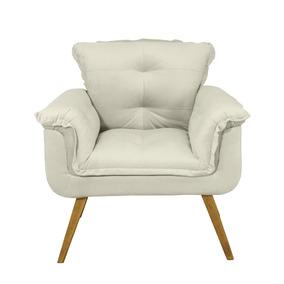 Cadeira Amamentação Bege - Sala de Estar no Mercado Livre Brasil f35c079afe