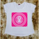 Camiseta Feminina Mês Outubro Rosa Mês Importante
