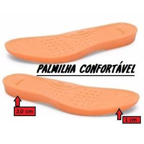 Palmilha Pu Gel Anti-impacto Botas Tênis Sapatênis Coturnos
