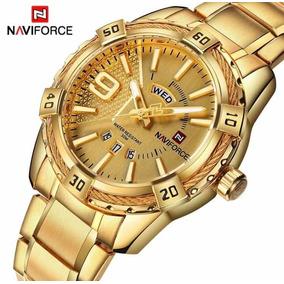 Relógio Naviforce Quartzo Aço Inoxidável