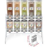 Dispenser Duplo Plastpet 5x18 + 5x37 Litros (porta Ração)