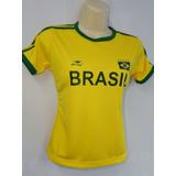 Camisetas Femininas Seleção Brasileira Kit Com 3 Peças 2019 0676ff50d41a9